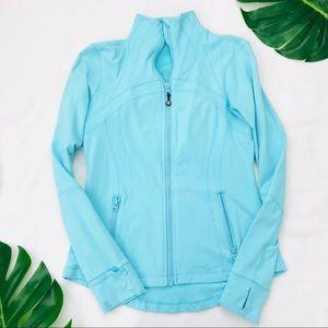 Lululemon Forme aqua blue jacket